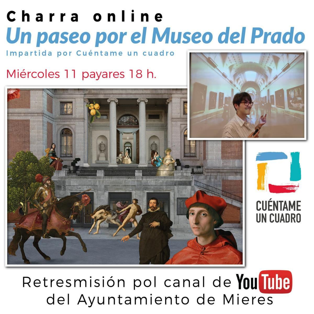 Charla Un Paseo Por El Museo Del Prado Web