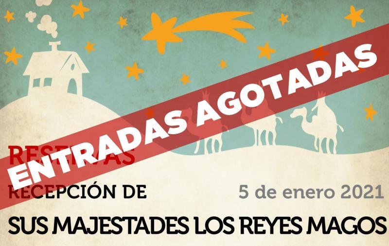 Banner Reservas Reyes Magos ENTRADAS AGOTADAS WEB