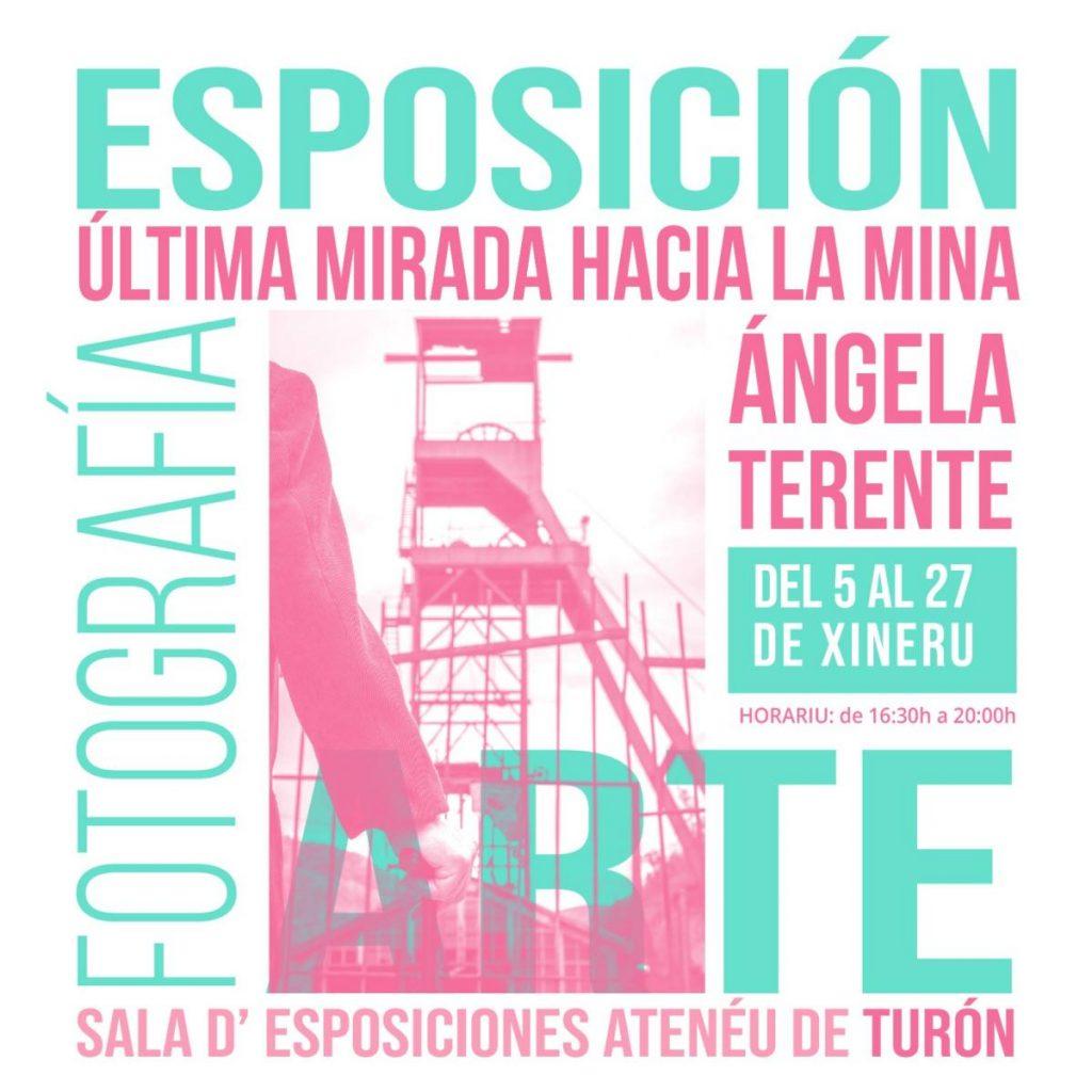 Cartel Expo Ultima Mirada Mina Turon
