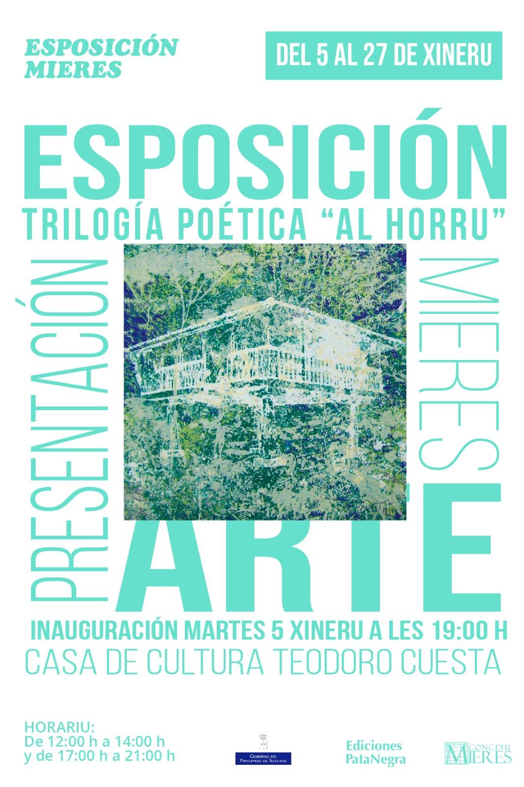 Cartel Exposición Al Horru Mieres