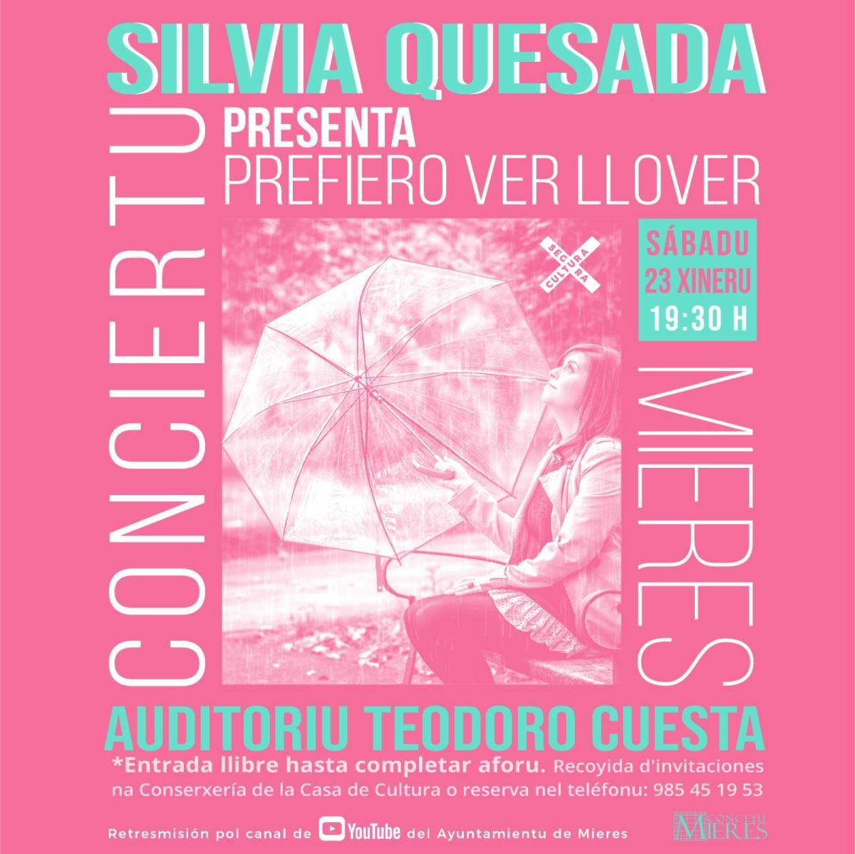Concierto Silvia Quesada Mieres
