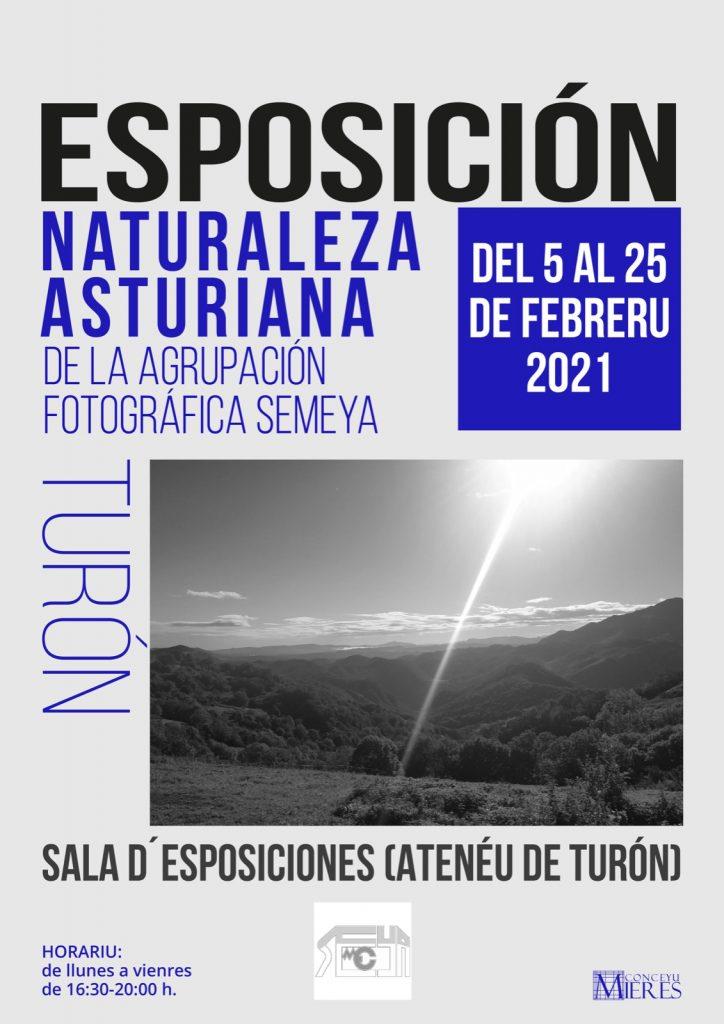 Exposición Semeya Naturaleza Asturiana Ateneu Turon