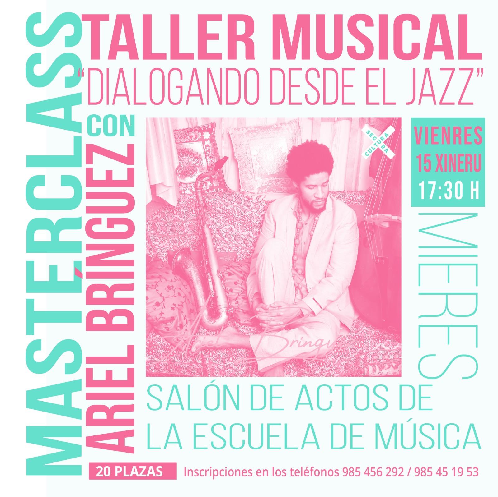 Taller Jazz Mieres Ariel Briguez
