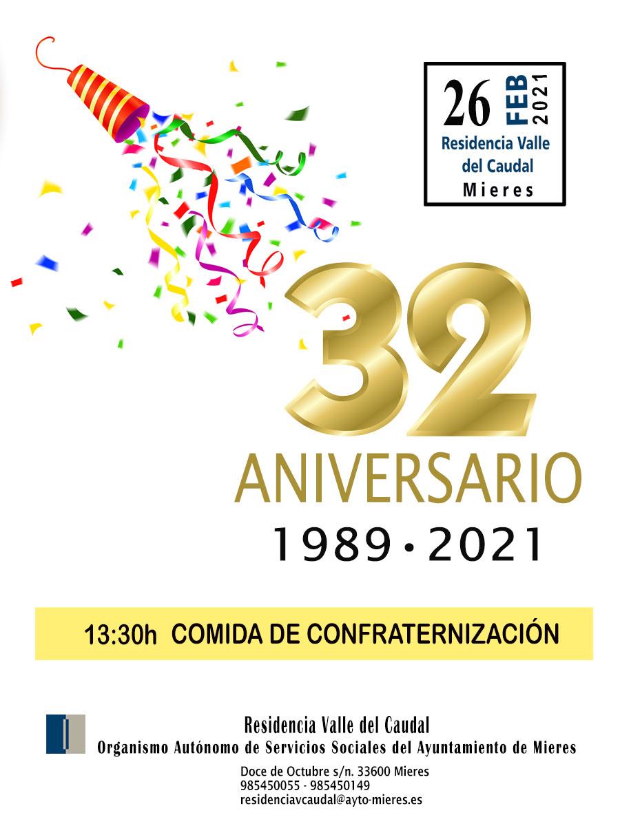030 Cartel 32 Aniversario Para Web
