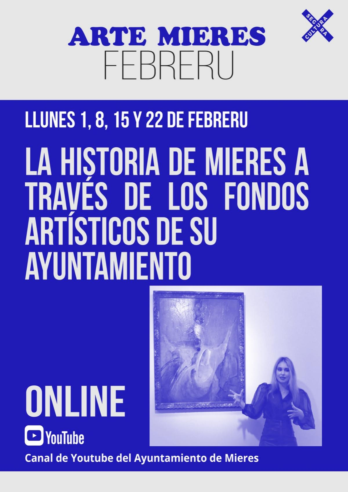 Arte Mieres Fondos Ayuntamiento Cartel Febrero