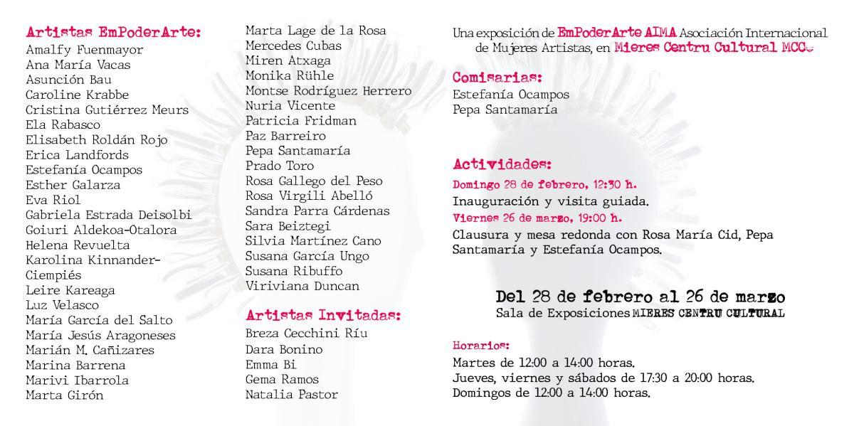 Exposicion Brujas Mieres Participantes