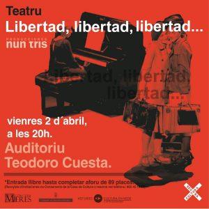 LIBERTAD Teatro Mieres Nun Tris Web
