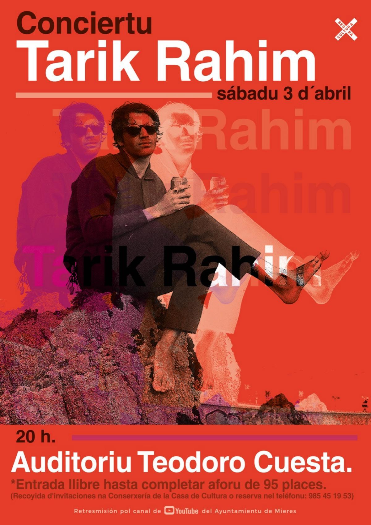 Tarik Rahim Cartel Concierto Mieres Web