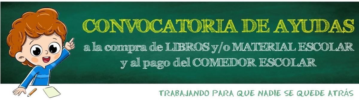 Banner Sección Ayudas Comedor Escolar Y Compra Libros WEB MIERES