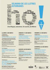 Cartel Selmana De Les Lletres 2021 MIERES Web