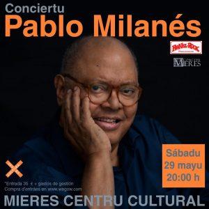 Pablo Milanés Concierto Mieres