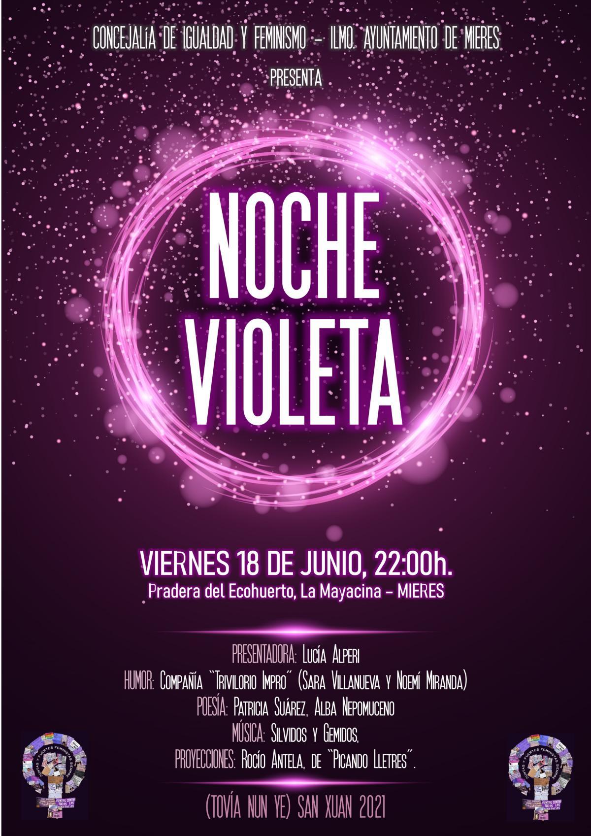 Cartel Noche Violeta 2021 Web