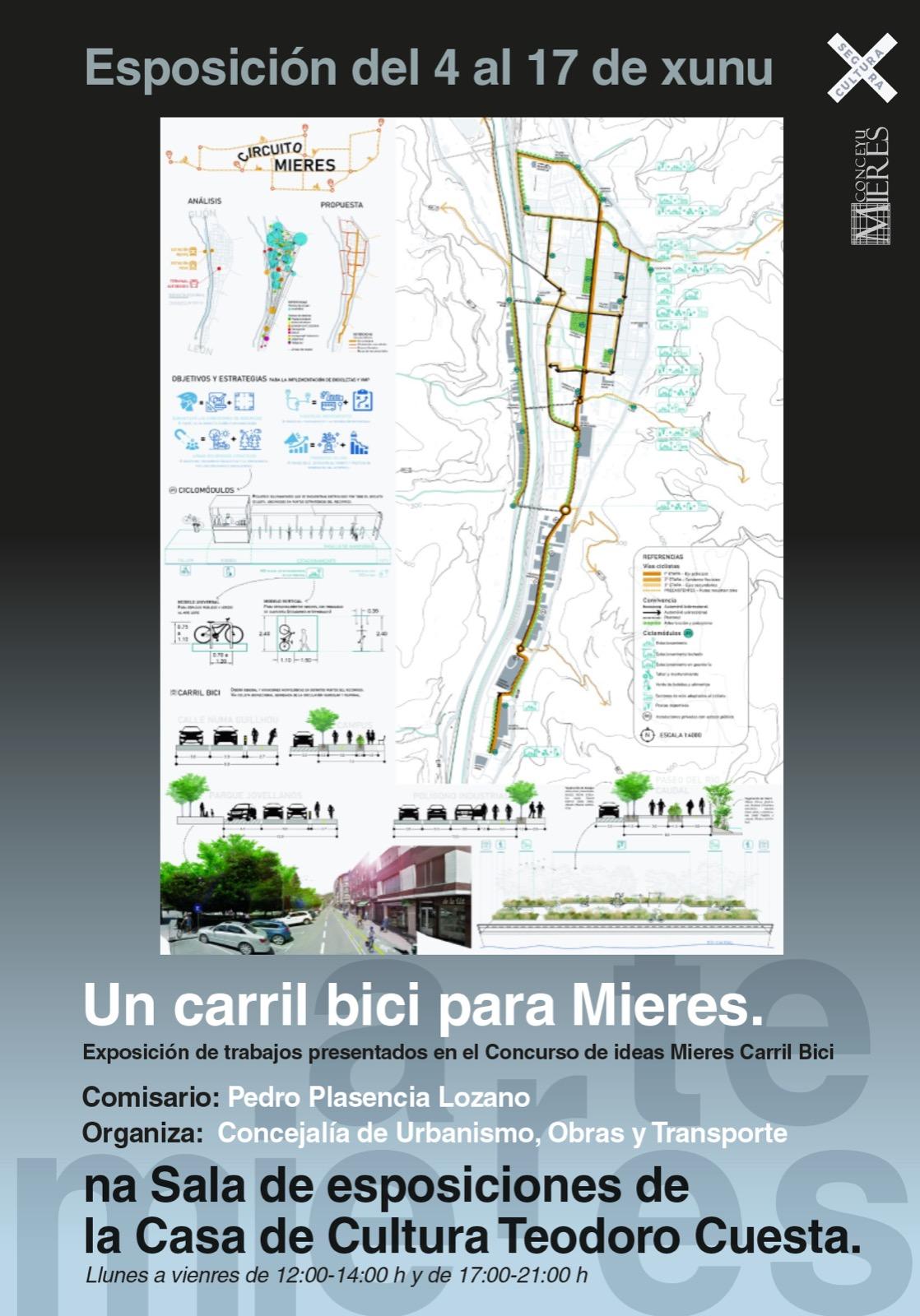 Cartel Expo Carril Bici Junio 2021