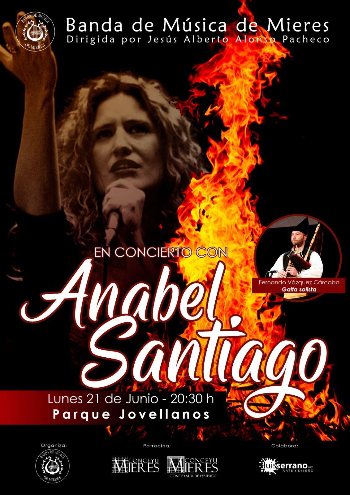 Banda Musica Mieres Anabel Santiago San Xuan 2021