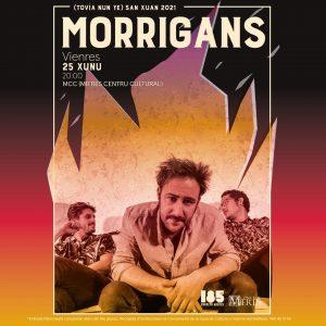 Cartel Morrigans San Xuan 2021