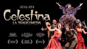 Cartel Celestina Teatro Atalaya San Xuan Mieres 2021