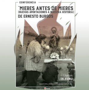 Cartel Ernesto Burgos