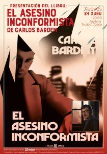 Cartel Libro Carlos Bardem