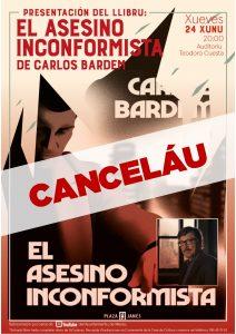 Evento Cancelado LIBRO BARDEM