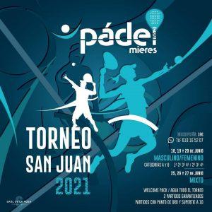 Torneo Padel San Xuan Mieres 2021