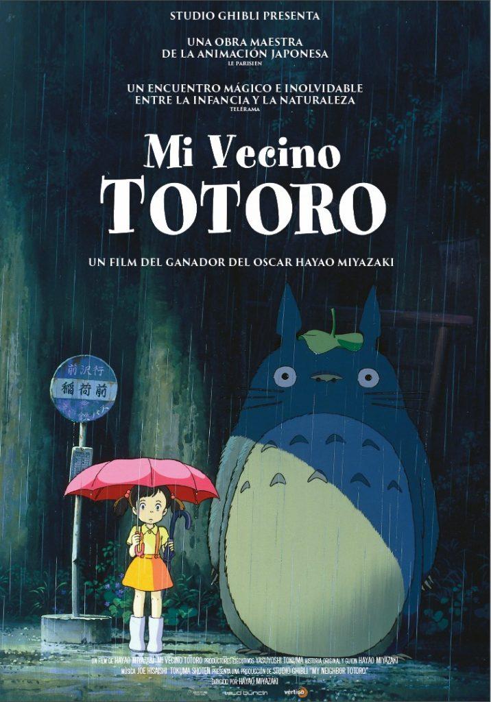 Mi Vecino Totoro Cine Pel Camin Mieres