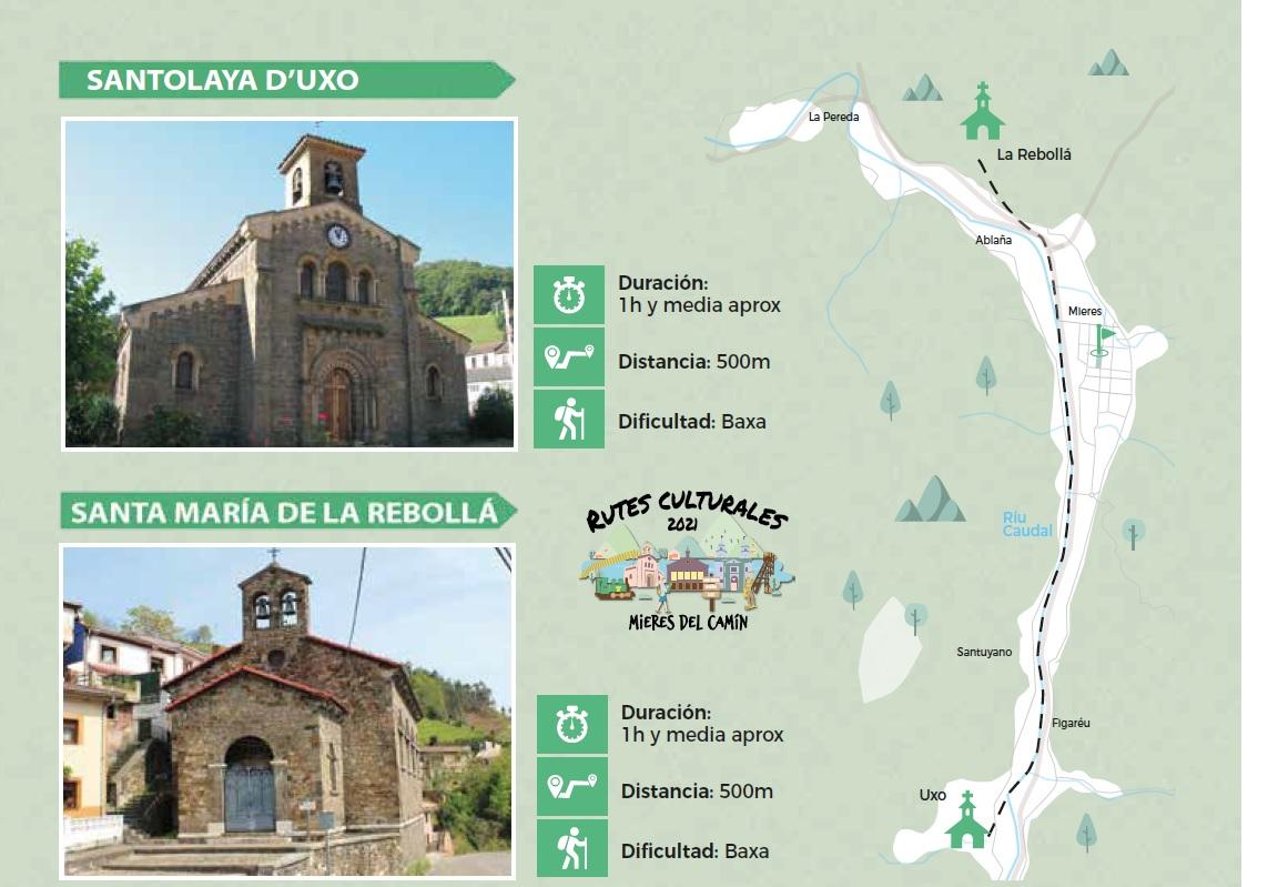 Rutas Culturales 2021 Iglesias Uxo La Rebolla