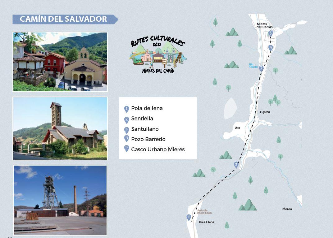 Itinerario Ruta Cultural Camin Del Salvador 2021