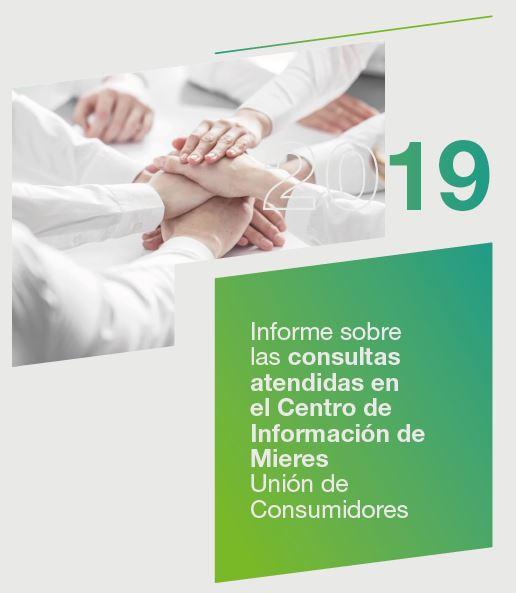 Portada Informe Oficina Consumidor Mieres 2019
