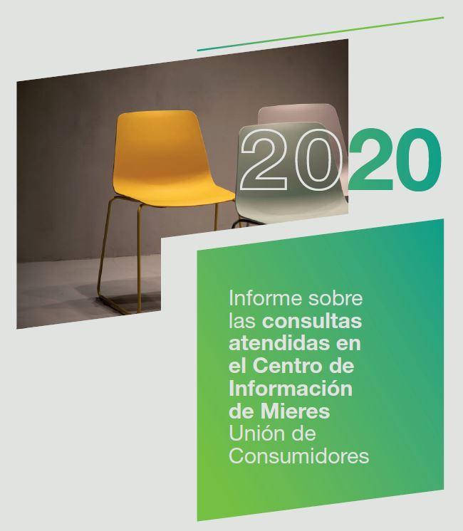 Portada Informe Oficina Consumidor Mieres 2020