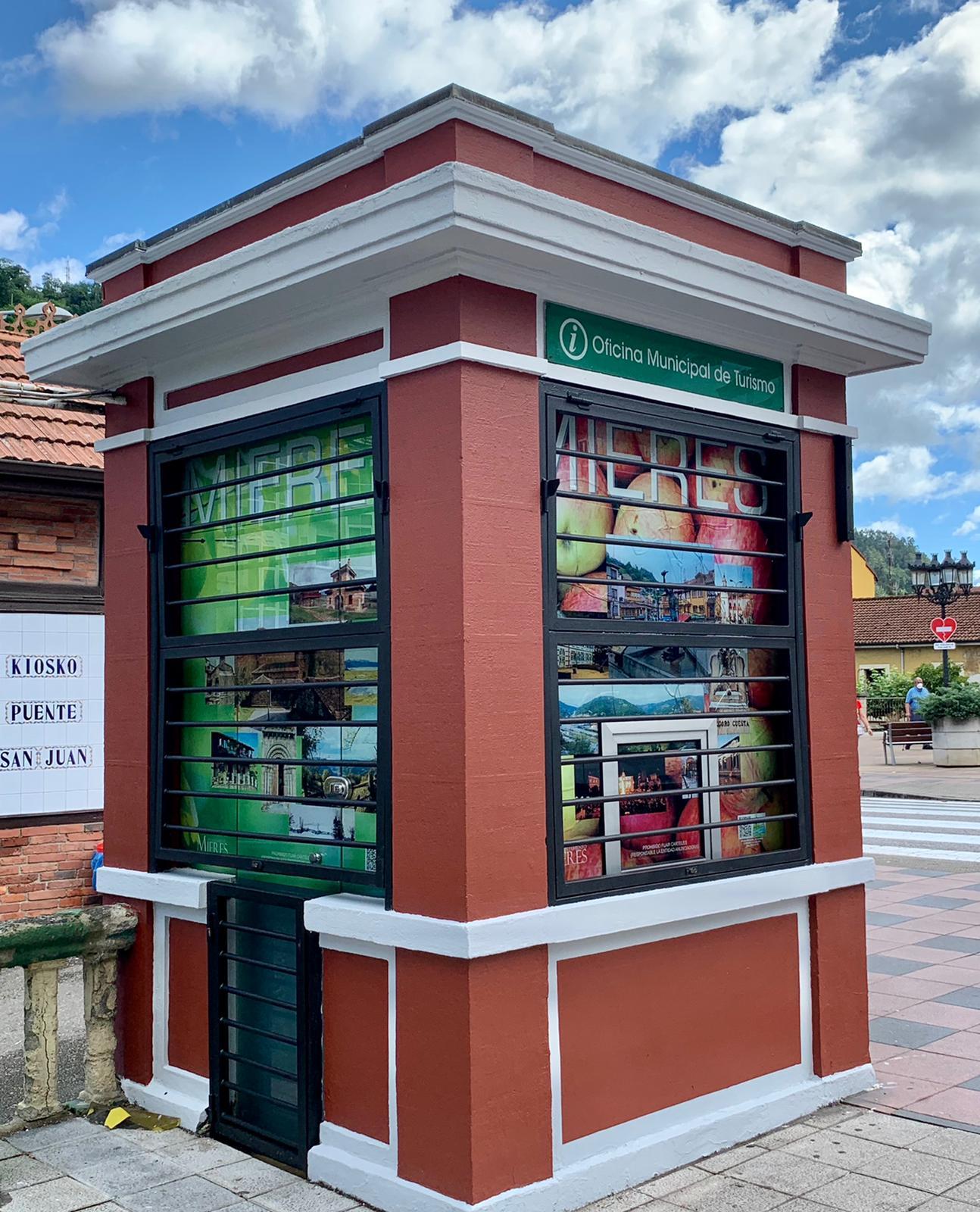 Kiosko Oficina Turismo