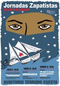 Cartel Jornadas Zapatistas 2021