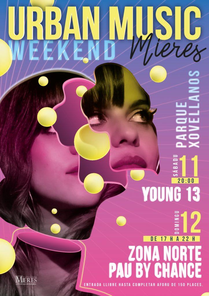 Cartel Weekend Urban Music 2021 Mieres