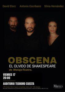Obscena Malaje Teatro Mieres