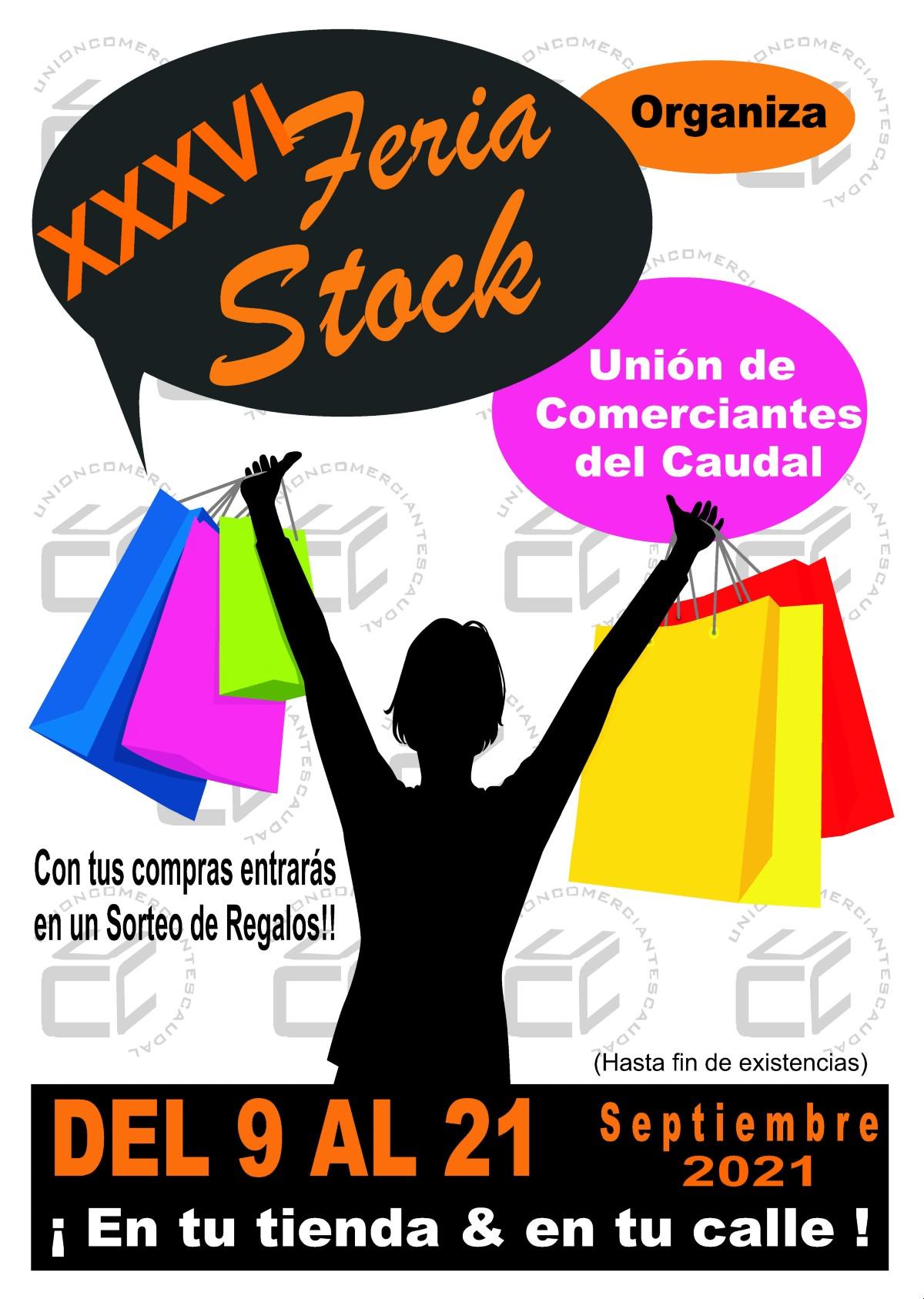 Cartel Feria Stock 2021 Union De Comerciantes Caudal