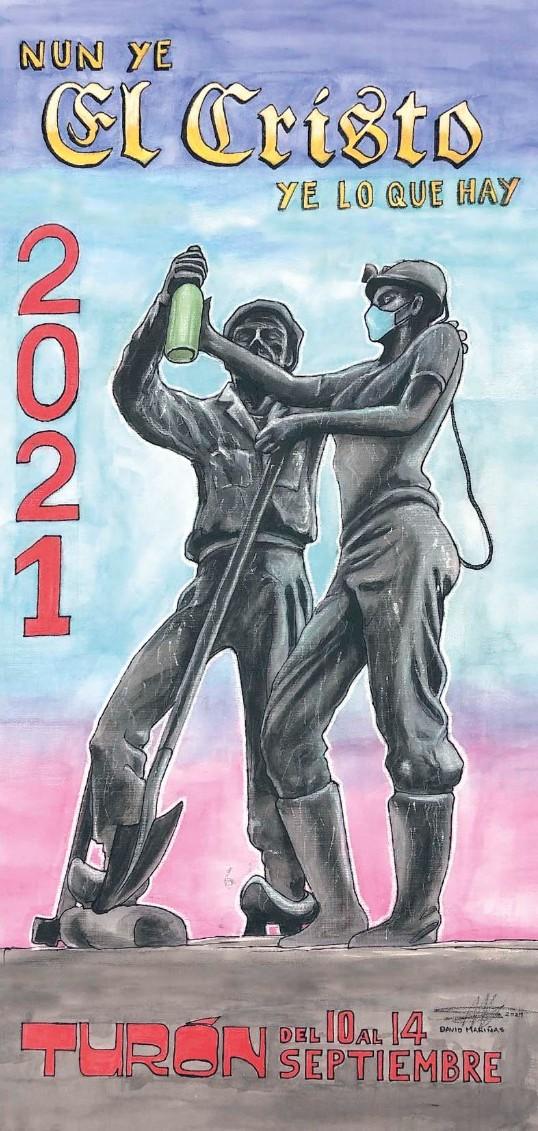 Cartel Fiestas Cristo Turon 2021