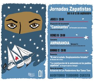 Cartel Jornadas Zapas Rrss
