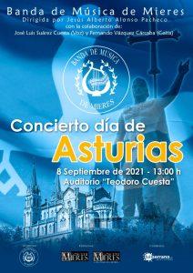 Concierto Dia Asturias 2021 Banda Musica Mieres