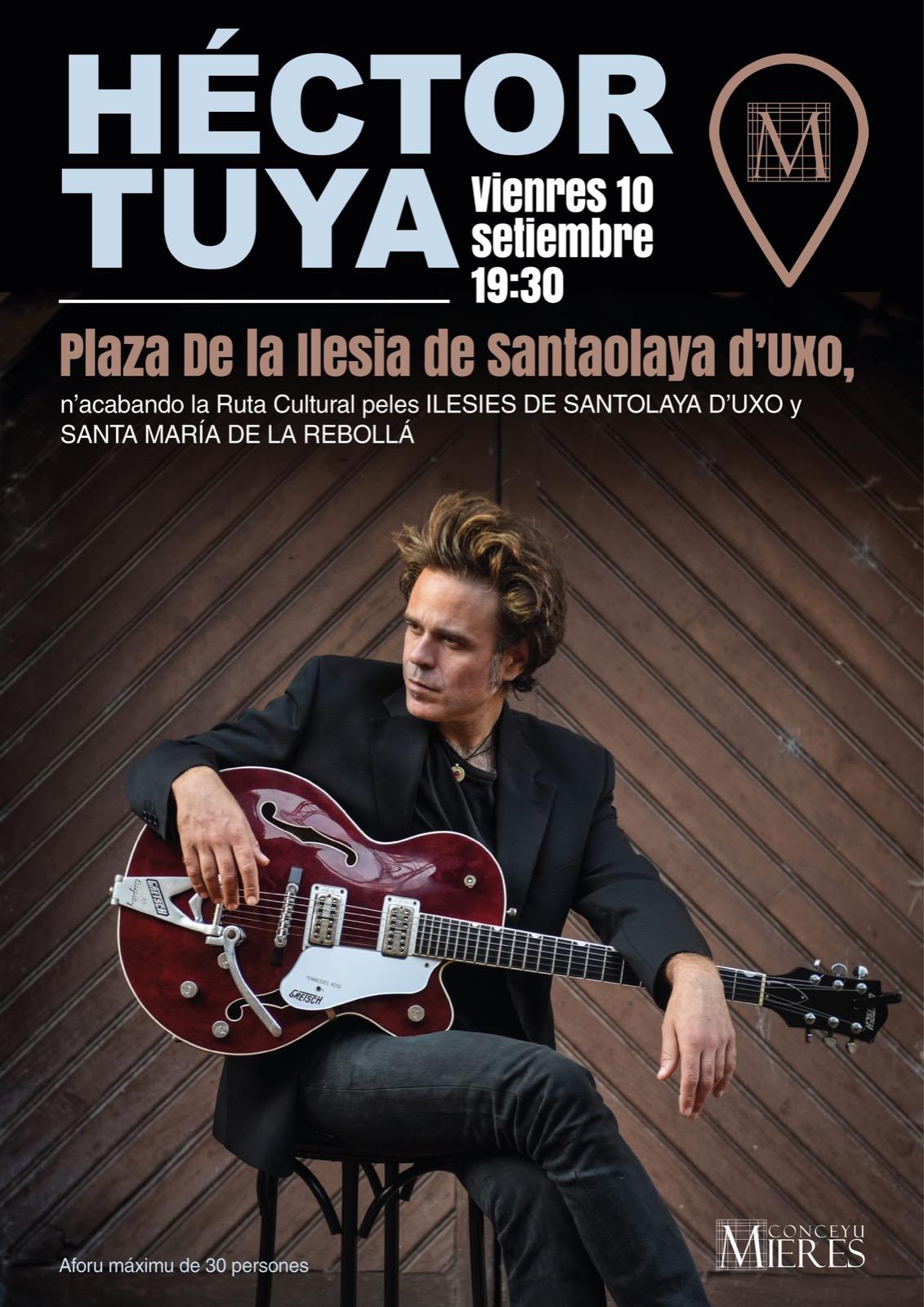 Hector Tuya Concierto Mieres Septiembre 2021